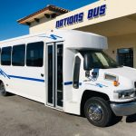 Chevy C5500 33 passenger charter shuttle coach bus for sale - Diesel 1
