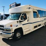 Chevy C5500 33 passenger charter shuttle coach bus for sale - Diesel 3