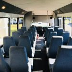 Chevy C5500 33 passenger charter shuttle coach bus for sale - Diesel 6