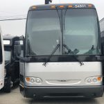 Prevost 54 passenger charter shuttle coach bus for sale - Diesel 1