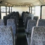 Chevy C5500 32 passenger charter shuttle coach bus for sale - Diesel 9