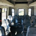 GMC 14 passenger charter shuttle coach bus for sale - Gas 5