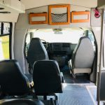 GMC 14 passenger charter shuttle coach bus for sale - Gas 6