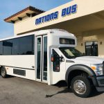 Ford F550 33 passenger charter shuttle coach bus for sale - Diesel 1