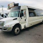 International 3200 36 passenger charter shuttle coach bus for sale - Diesel 3