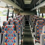 International 3200 36 passenger charter shuttle coach bus for sale - Diesel 6
