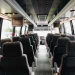 International 3200 36 passenger charter shuttle coach bus for sale - Diesel 7