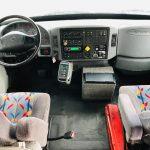 International 3200 36 passenger charter shuttle coach bus for sale - Diesel 8