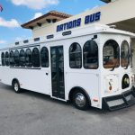 Ford F53 30 passenger charter shuttle coach bus for sale - Gas 1
