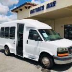 GMC 14 passenger charter shuttle coach bus for sale - Gas 1
