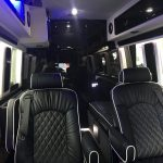 Mercedes-Benz Sprinter 9 passenger charter shuttle coach bus for sale - Diesel 5