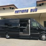 Mercedes-Benz Sprinter 9 passenger charter shuttle coach bus for sale - Diesel 2