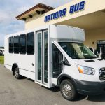 Ford Transit 14 passenger charter shuttle coach bus for sale - Gas 1