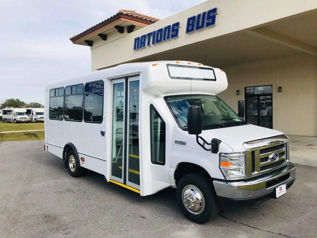 Ford E350 14 passenger charter shuttle coach bus for sale - Gas