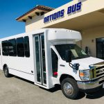 Ford E-450 24 passenger charter shuttle coach bus for sale - Gas 1
