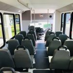Ford E-450 24 passenger charter shuttle coach bus for sale - Gas 6