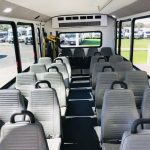 Ford E-450 24 passenger charter shuttle coach bus for sale - Gas 5
