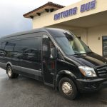 Mercedes-Benz 16 passenger charter shuttle coach bus for sale - Diesel 1