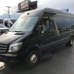 Mercedes-Benz 16 passenger charter shuttle coach bus for sale - Diesel 3