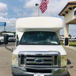 Ford E-450 25 passenger charter shuttle coach bus for sale - Gas 2