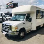 Ford E-450 25 passenger charter shuttle coach bus for sale - Gas 3