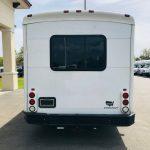 Ford E-450 25 passenger charter shuttle coach bus for sale - Gas 4