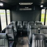 Ford Transit 14 passenger charter shuttle coach bus for sale - Gas 4