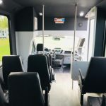 Ford Transit 14 passenger charter shuttle coach bus for sale - Gas 5