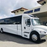 Freightliner M2 39 passenger charter shuttle coach bus for sale - Diesel 1