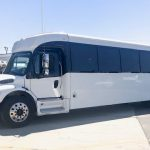 Freightliner M2 36 passenger charter shuttle coach bus for sale - Diesel 2