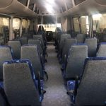 Freightliner M2 36 passenger charter shuttle coach bus for sale - Diesel 6