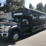 Ford F-550 30 passenger charter shuttle coach bus for sale - Gas 3