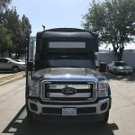 Ford F-550 30 passenger charter shuttle coach bus for sale - Gas 2