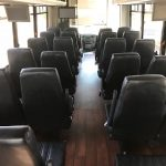 Ford F-550 30 passenger charter shuttle coach bus for sale - Gas 6