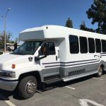 Chevy 4500 25 passenger charter shuttle coach bus for sale - Gas 3