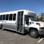 Chevy 4500 25 passenger charter shuttle coach bus for sale - Gas 1