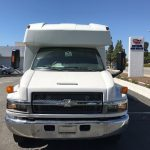 Chevy 4500 25 passenger charter shuttle coach bus for sale - Gas 2