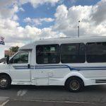Chevy Express 10 passenger charter shuttle coach bus for sale - Gas 3