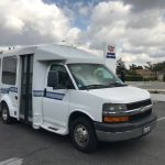 Chevy Express 10 passenger charter shuttle coach bus for sale - Gas 1