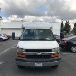 Chevy Express 10 passenger charter shuttle coach bus for sale - Gas 2