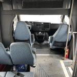 Chevy Express 10 passenger charter shuttle coach bus for sale - Gas 6