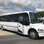 Freightliner M2 30 passenger charter shuttle coach bus for sale - Diesel 1