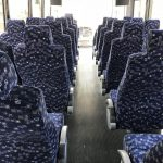 Freightliner M2 30 passenger charter shuttle coach bus for sale - Diesel 6