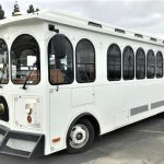Ford F53 28 passenger charter shuttle coach bus for sale - Gas 2
