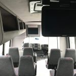 Chevy 4500 25 passenger charter shuttle coach bus for sale - Gas 6
