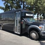 Ford F-550 30 passenger charter shuttle coach bus for sale - Gas 1