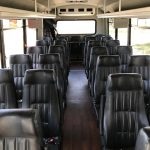 Ford F-550 30 passenger charter shuttle coach bus for sale - Gas 5