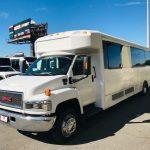 GMC C5500 40 passenger charter shuttle coach bus for sale - Diesel 3