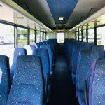 GMC C5500 40 passenger charter shuttle coach bus for sale - Diesel 4