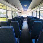 GMC C5500 40 passenger charter shuttle coach bus for sale - Diesel 5